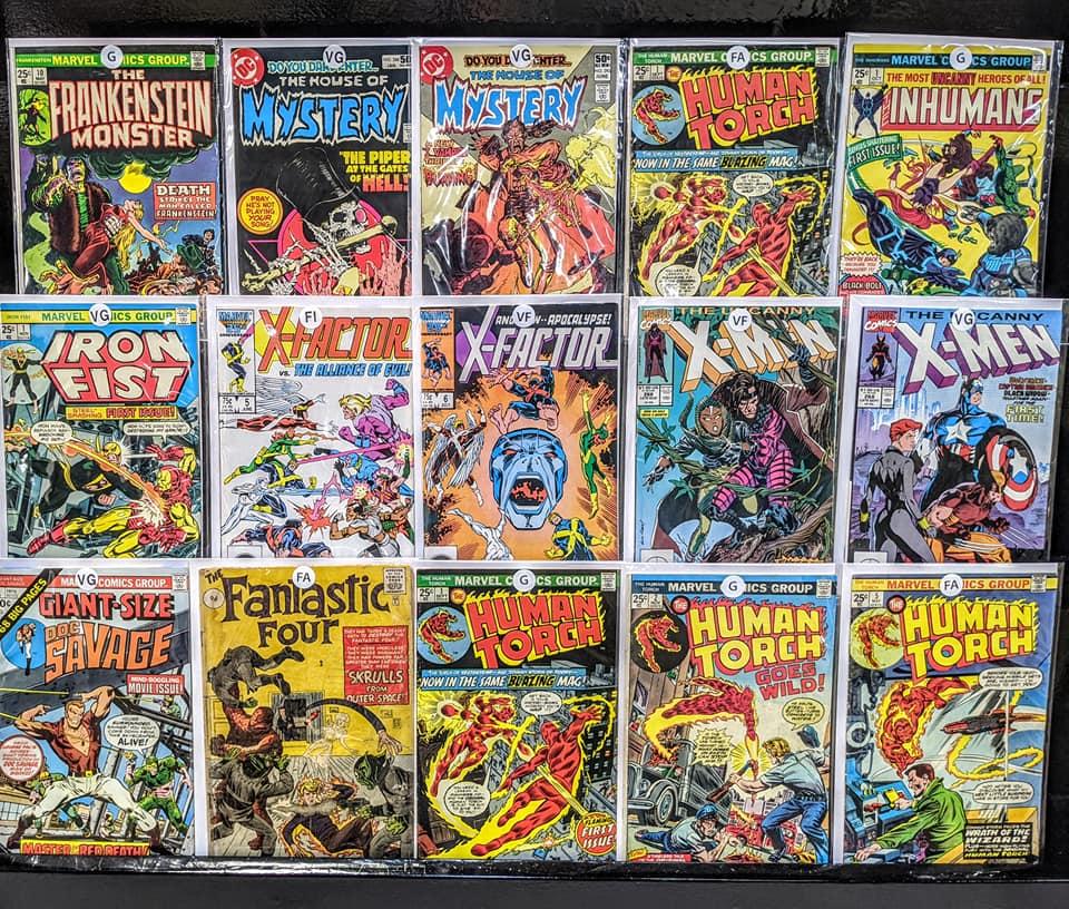 Mystery Comic Box 25 Comics DC Marvel Image Comics