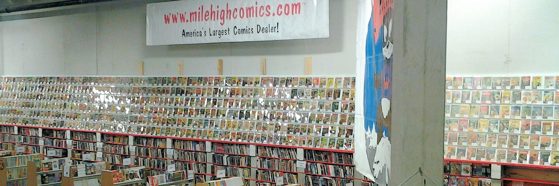 Jason St Comics Wall